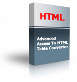 Advanced Access To HTML Table Converter Product Box