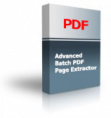 Advanced Batch PDF Page Extractor Product Box