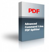 Advanced Command Line PDF Splitter Product Box