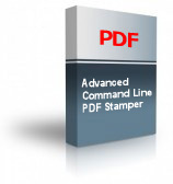 Advanced Command Line PDF Stamper Product Box