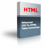Advanced CSV To HTML Table Converter Product Box