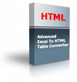 Advanced Excel To HTML Table Converter Product Box