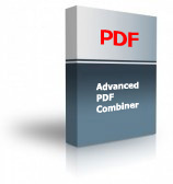 Advanced PDF Combiner Product Box