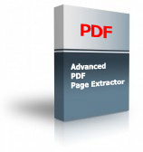Advanced PDF Page Extractor Product Box