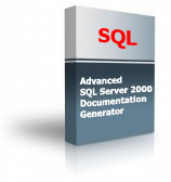 Advanced SQL Server 2000 Documentation Generator Product Box
