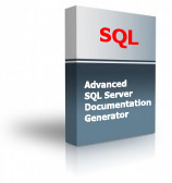 Advanced SQL Server Documentation Generator Product Box